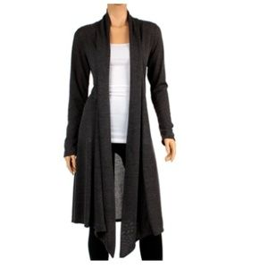 Rags & Couture Open Front Hacci Cardigan 1XL